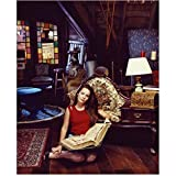 Charmed Holly Marie Combs as Piper Holding Spellbook 8 x 10 Inch Photo