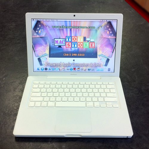 "Apple MacBook - Core 2 Duo 2 GHz - RAM 2 GB - HDD 120 GB - DVD?RW (?R DL) - GF 9400M - Gigabit Ethernet - WLAN : 802.11 a/b/g/n (draft), Bluetooth 2.1 EDR - MacOS X 10.5 - 13.3"" Widescreen TFT 1280 x 800 ( WXGA ) - camera - white"