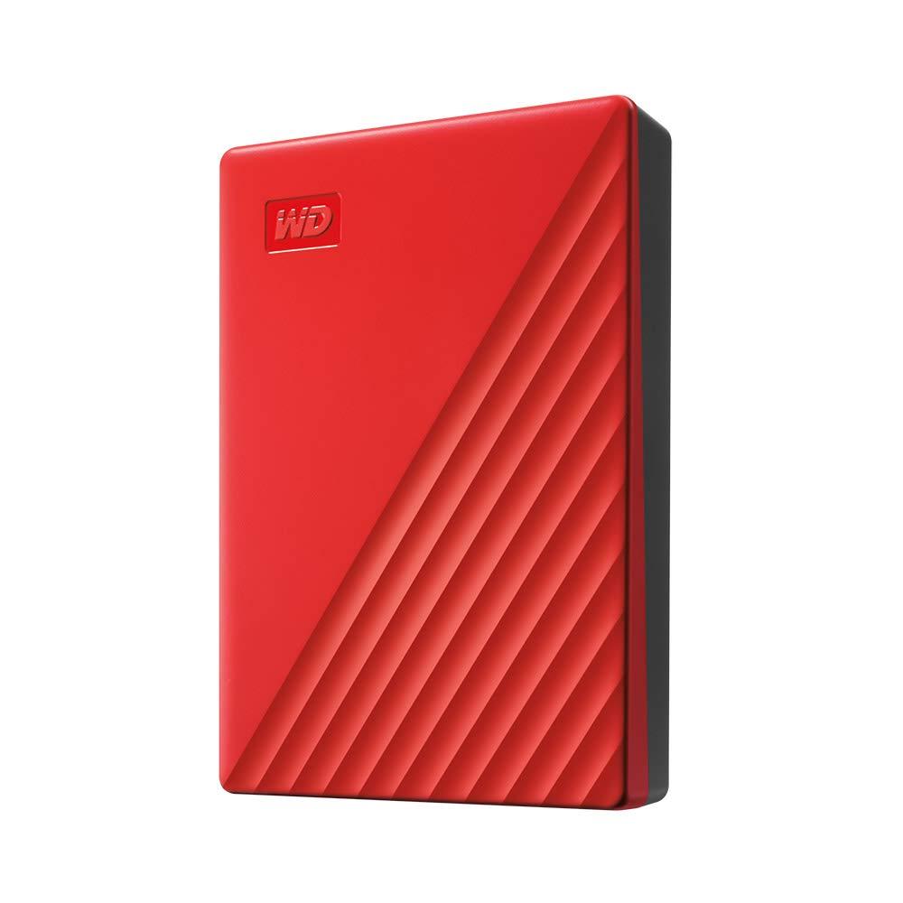WDBPKJ0050BBK-WESN Black WD 5TB My Passport Portable External Hard Drive