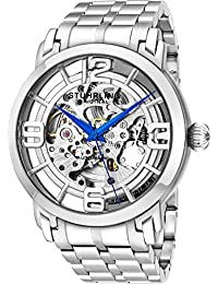 Stuhrling Original Men's 165B2B.33112 Lifestyle Winchester 44 Elite Skeleton Silvertone Watch