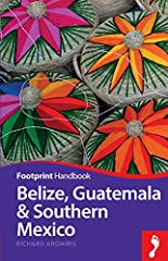 Blessed with a tropical climate, abundant wildlife and a varied landscape, it's easy to understand the appeal of this beguiling region. Footprint's Belize, Guatemala & Southern Mexico Handbook will guide you from monumental Mayan r...
