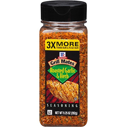 Garlic Chicken - McCormick Grill Mates Roasted Garlic & Herb Seasoning, 9.25 Ounce