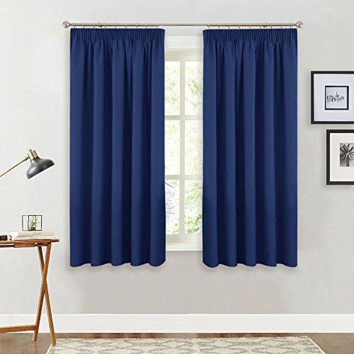 PONY DANCE Nursery Blackout Curtains - Room Darkening Curtain Panels for...