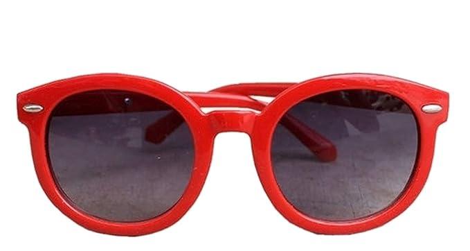 EVRYLON Gafas de sol para niña, para 10 12 14 años, redondas ...