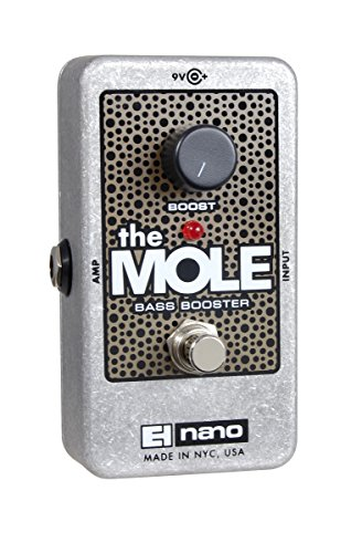 electro-harmonix-the-mole-nano-bass-boost-guitar-effects-pedal