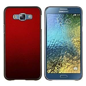 Stuss Case / Funda Carcasa protectora - La sangre de color rojo oscuro carmesí Luz - Samsung Galaxy E7 E700
