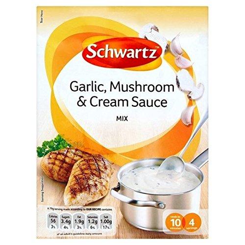 Schwartz Ajo Y Salsa De Setas 26g (Paquete de 6)