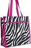 J Garden Zebra Print Tote Bag