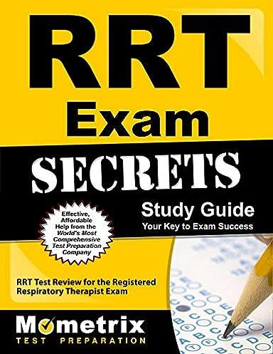 rrt exam secrets study guide rrt test review for the registered rh amazon com RRT Exam Study Guide RRT Exam Secrets