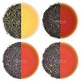 Oolong Tea Leaves Sampler - 5 TEAS, 25 Servings | Oolong Tea