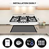 thermomate Gas Cooktop, 30 Inch Built In Gas