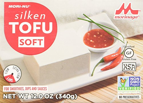 Mori-Nu Silken Tofu, Soft, 12 Ounce (Pack of 12)