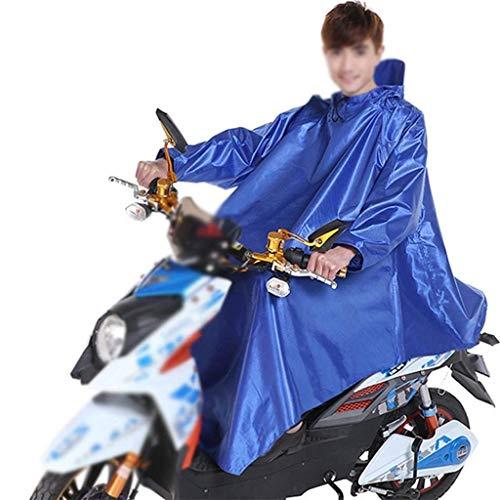 Coche Motocicleta Al De Aire Chubasquero Adulto Eléctrico Con Lluvia Libre Outdoor Color Espesor Sólido Huixin Capucha 7 Poncho qBESxw