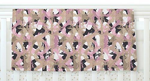 KESS InHouse Chickaprint Skap Pink Gold Fleece Baby Blanket 40 x 30 [並行輸入品]   B077Z4BX5B