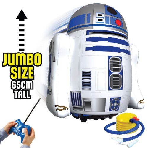 [UK-Import]Remote Controlled Inflatable Star Wars R2-D2