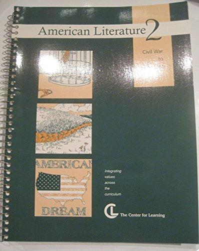 American Literature 2: Civil War to Present