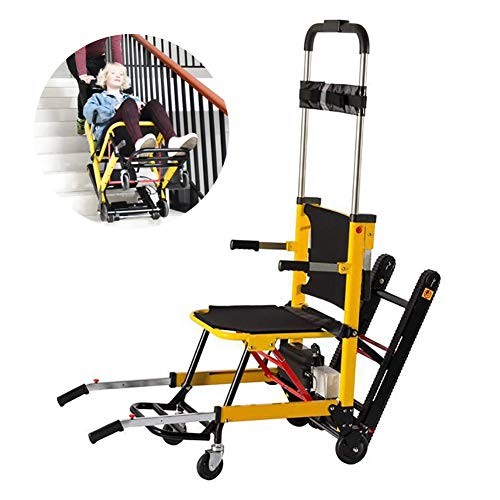Self-Propelled Wheelchairs Light Folding Power Compact Electric Wheelchair Mobile Auxiliary Stair for The Elderly Up and Down The Stairs