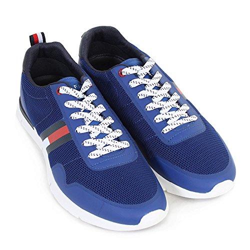 Tommy Hilfiger Mens INT Tobias 20C Lace Up Trainer Monaco Blue-Blue-9 Size 9
