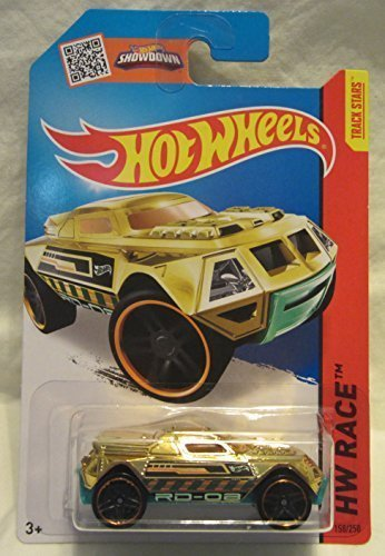 Hot Wheels HW Race RD-08 158/250 Gold 2015 (Rd Race)