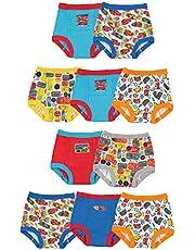 Disney boys Cars 3pk Training Pants & 4pk Briefs Underwear
