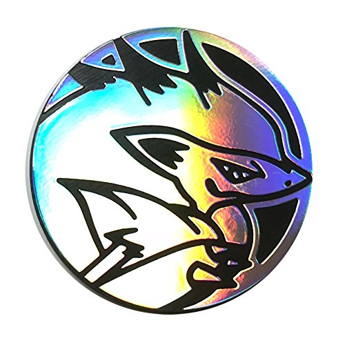 OFFICIAL POKEMON COIN - ZOROARK - HOLO FOIL SHINY - TRADING CARD GAME FLIPPING (Official Game Coin)