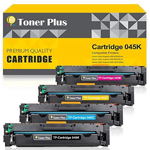 Toner Plus 4Packs Compatible Toner Cartridge Replacement for