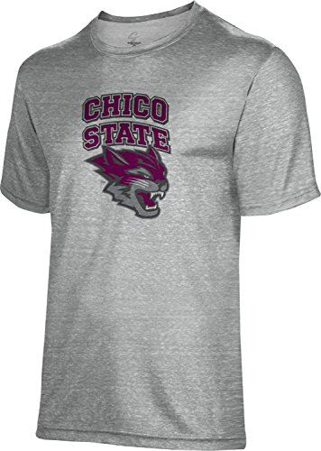 Spectrum Sublimation Unisex California State University Chico Poly Cotton Tee  Apparel   X Large