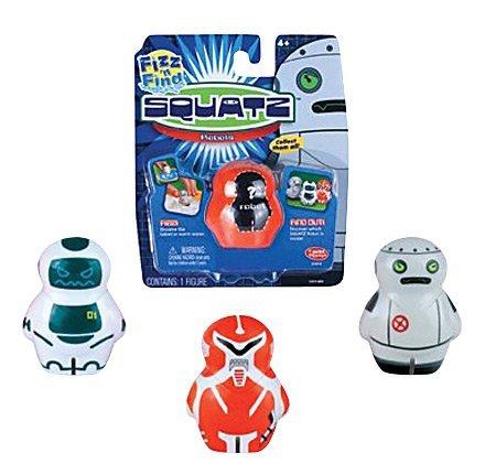 SQUATZ Fizz n Find Robot Single Figure Pack