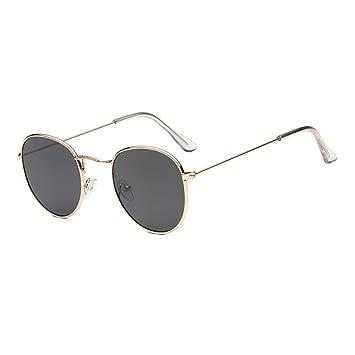 Amazon.com: Fdrirect Vintage Round Sunglasses Women Points ...