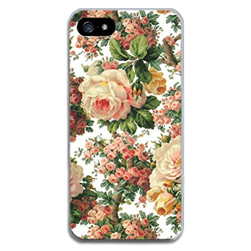 Desirca Phone Case Capa for iPhone 7 Cactus Cover Flower Rose Plant Leaves Silicone Shell Funda for iPhone 7 Plus 8 6 6S 5S Se 5 Blue for iPhone 8