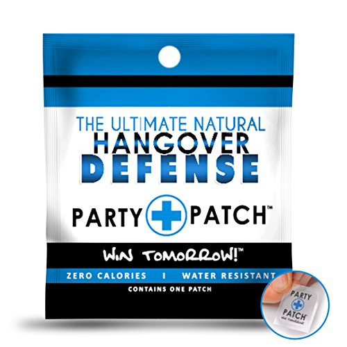 Party Patch Hangover Defense Transdermal Patch – 24 Pack by Party Patch