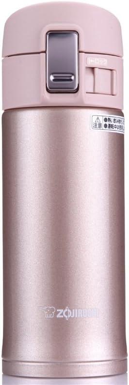 Zojirushi SM-KB36PX Stainless Steel Travel Mug, 12-Ounce/0.36-Liter, Pink Champagne