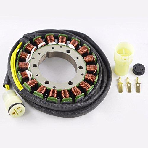 High Output Stator For Kawasaki KFX 700 KVF 650 700 750 Brute Force/Prairie Suzuki LTV 700 F Twin Peaks 2002-2013 OEM Repl.# 21003-0003 21003-0012 21003-0092 21003-1359 K2100-31359 (Stator Output High)