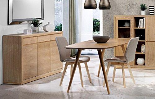 - DECORARTE - Mesas de Comedor Modernas - Mesa Oslo (150x