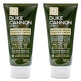 Duke Cannon Shave Cream 6 oz - Superior Grade Men's Shaving Cream (2 Pack)
