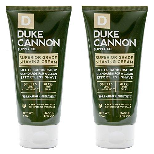 (Duke Cannon Shave Cream 6 oz - Superior Grade Men's Shaving Cream (2 Pack))