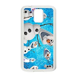 DAZHAHUI Cute Lovely Olaf Design Best Seller High Quality Phone Case For Samsung Galacxy S5
