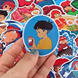 35Pcs Series Ponyo on The Cliff Sticker Home Decor
