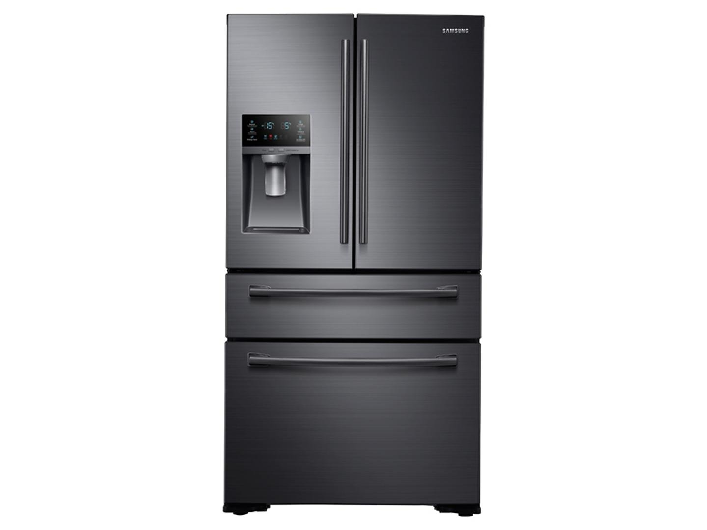 "Samsung Appliance RF30KMEDBSG 36"" French Door Refrigerator with 29.7 cu. ft. Total Capacity, in Black Stainless Steel"