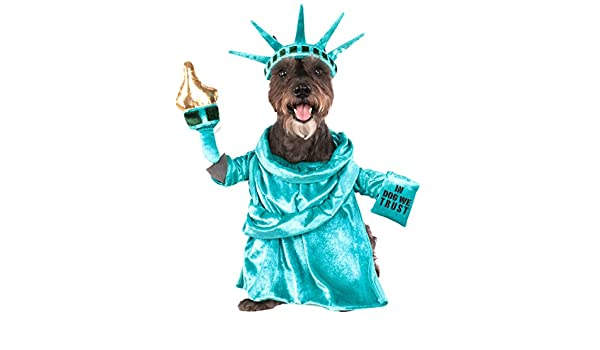Rubies Disfraz 580540lxl L de la Estatua de la Libertad Mascota ...