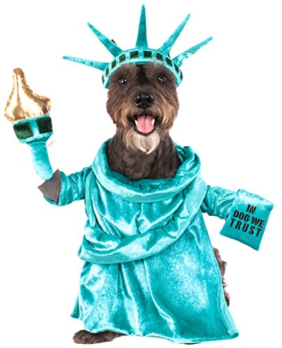 (Statue of Liberty Pet Costume,)