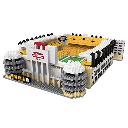 NFL Pittsburgh Steelers 3D BRXLZ Stadium Building Blocks Set, Team Color, One Size from FOCO