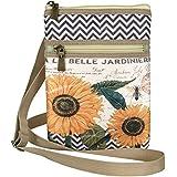 Modern Vintage On The Go Cross Body Bag Sunflower
