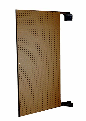 Triton Products B1 XtraWall Wall Mount Double-Sided Swing Panel Pegboard 24-Inch W by 48-Inch H by 1-1/2-Inch D by XtraWall