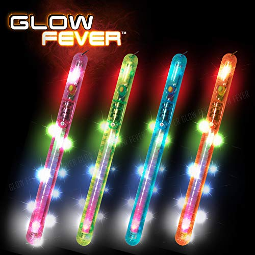 Glow Fever Light-up LED Blinking Flashing Glow Wand Sticks (8