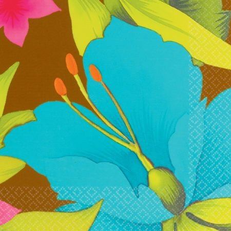 (Party America Cool Tiki Blossoms Lunch Napkins)
