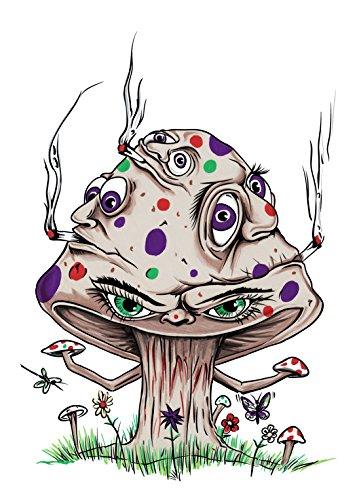 high-mushroom-funny-shroom-smoking-joint-cartoon-rectangle-refrigerator-magnet