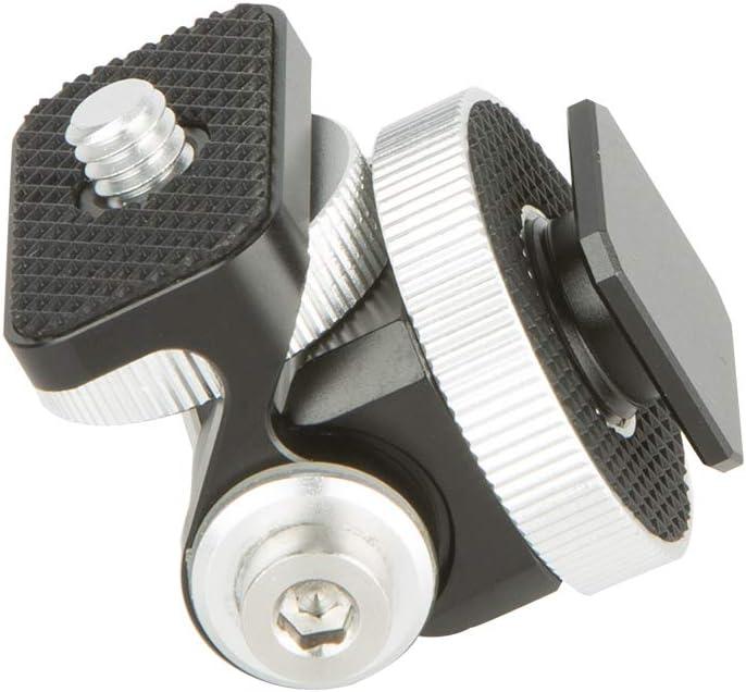 NICEYRIG DSLR Camera Field Monitor Holder Mount with Hot Shoe for Cameras