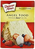 Duncan Hines Signature Cake Mix, Angel Food, 16 oz (Pack of 2 16 oz Boxes)