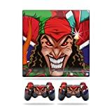 MightySkins Protective Vinyl Skin Decal Cover for Sony Playstation 3 PS3 Slim skins + 2 Controller skins Sticker Jolly Jester